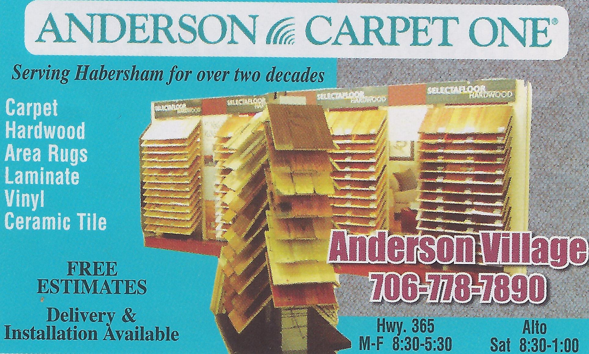 Anderson Carpet Alto Ga Scifihitscom