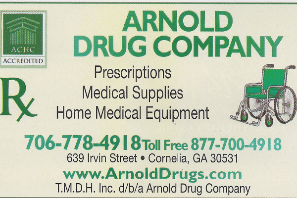 Arnold Drug Compnay White County