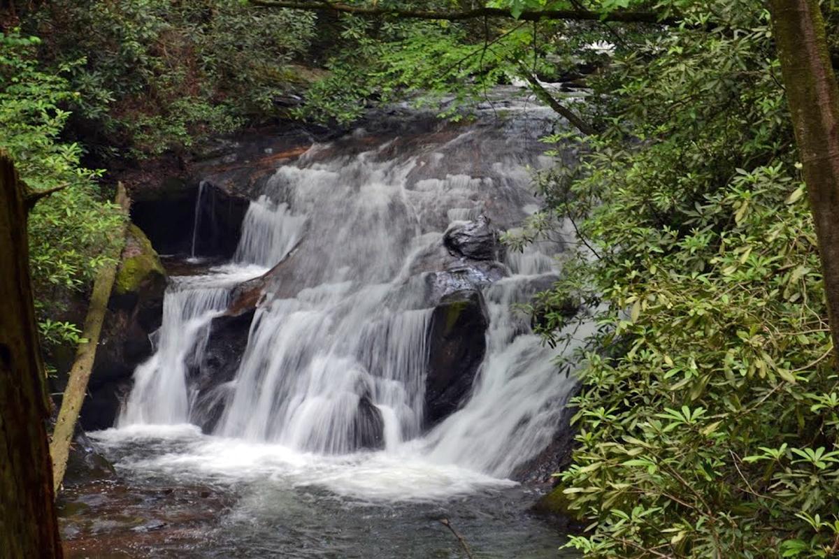 waterfalls in helen ga