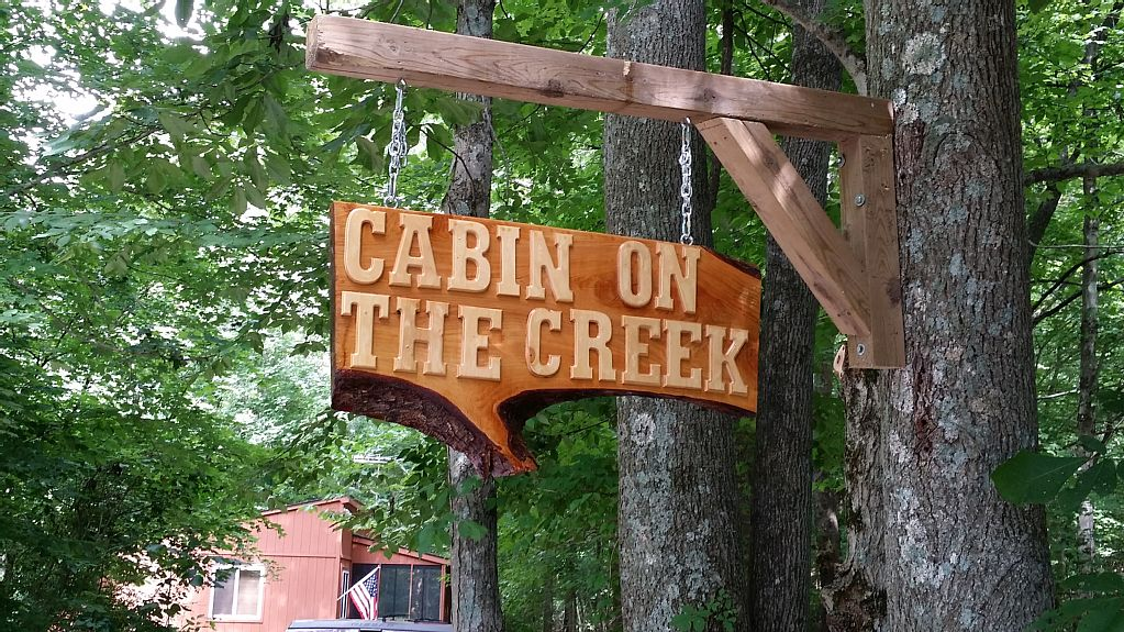 cabin on the creek-story