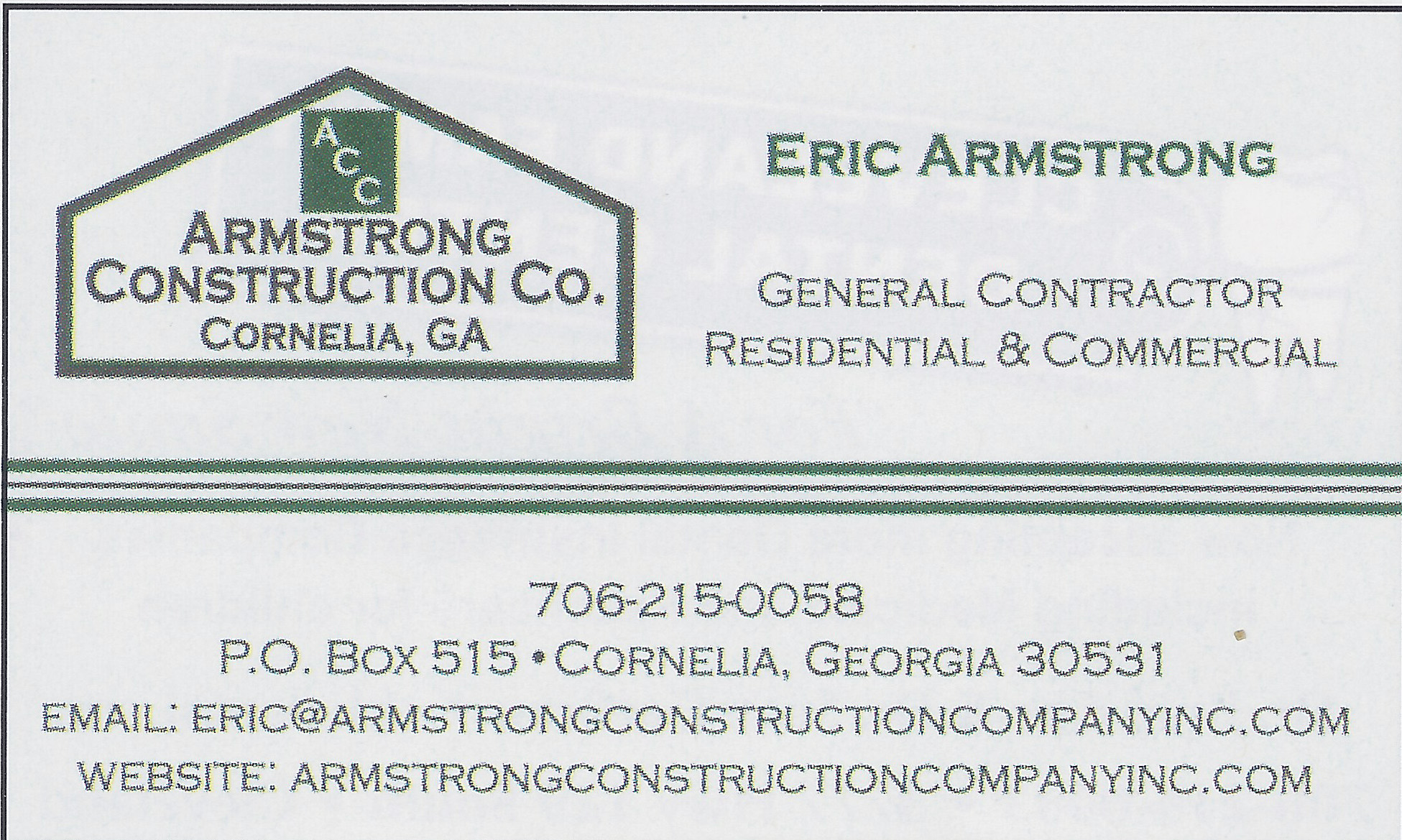 Armstrong Construction Company