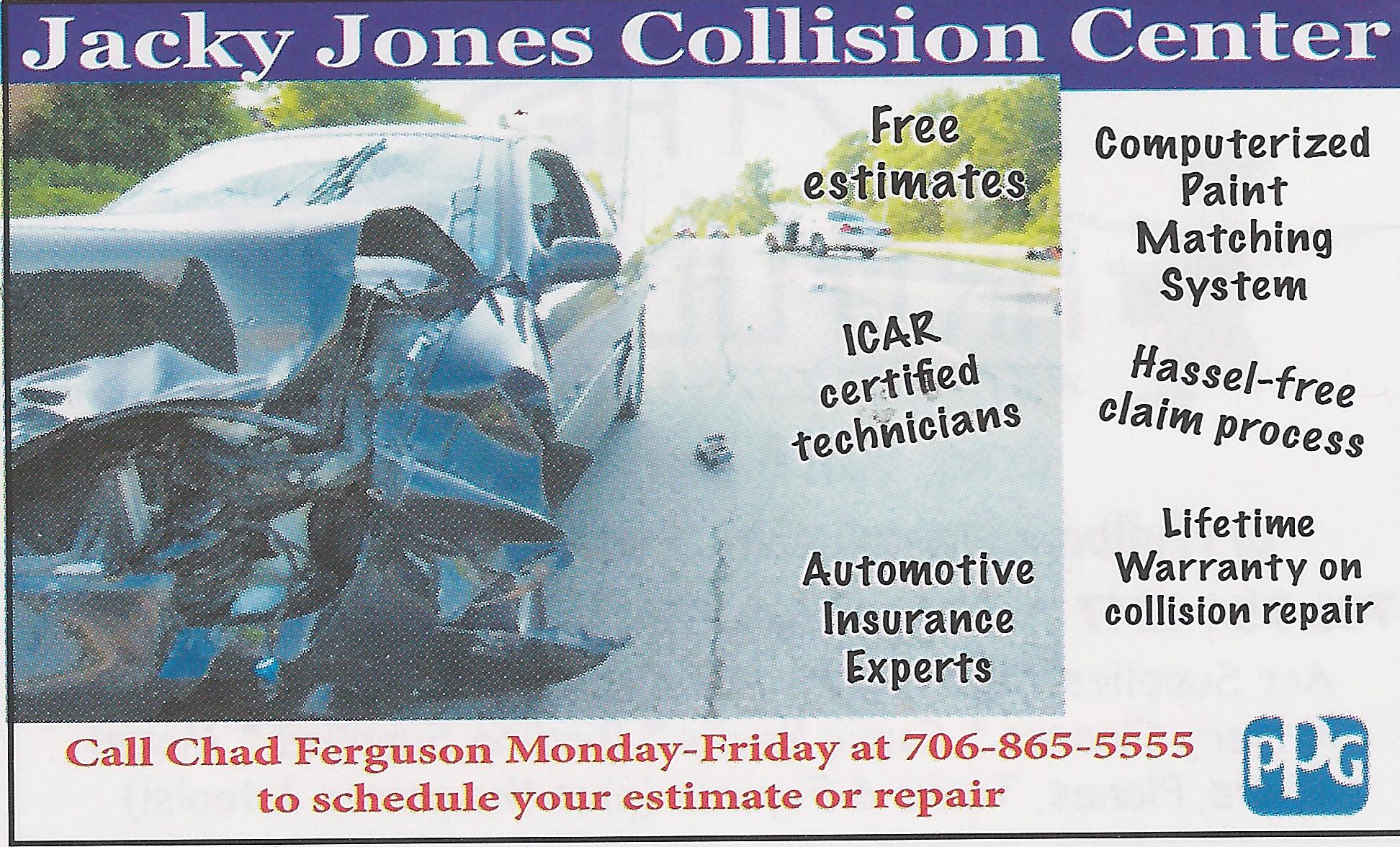 Jacky Jones Collision Center White County