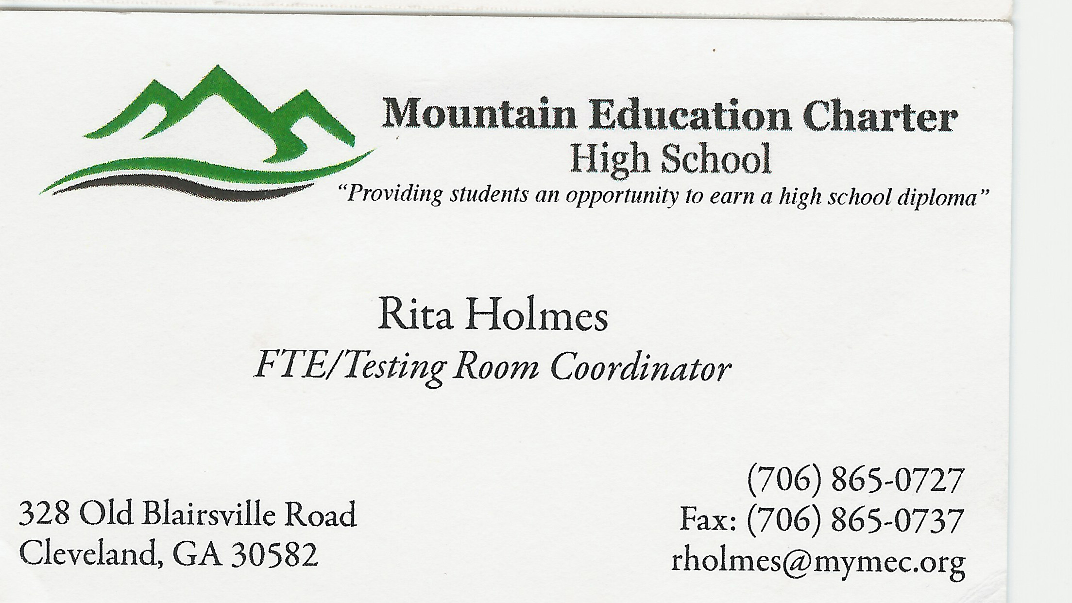 Mountain Education Charter High School