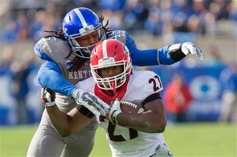Georgia Kentucky Football