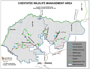 chestatee wma map